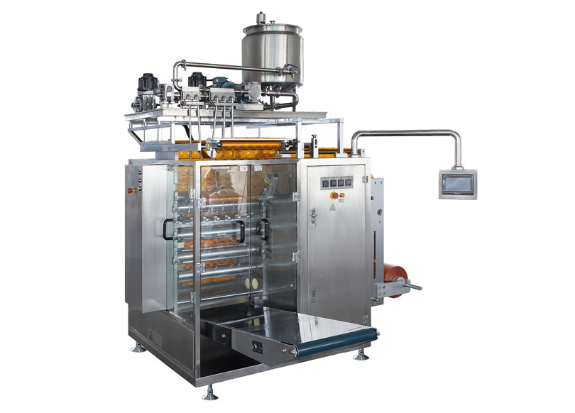 DXDO-J900E Tomato ketchup sachet packing machine